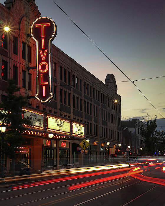 Tivoli Theatre on the Delmar Loop by Garry McMichael